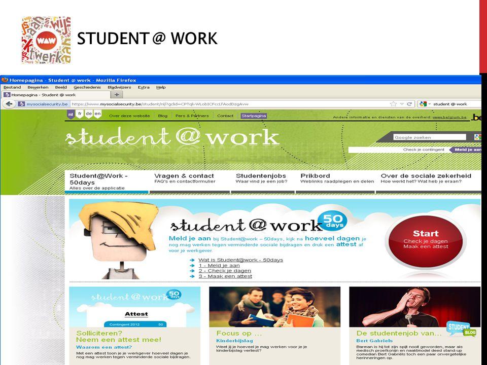 Student @ work