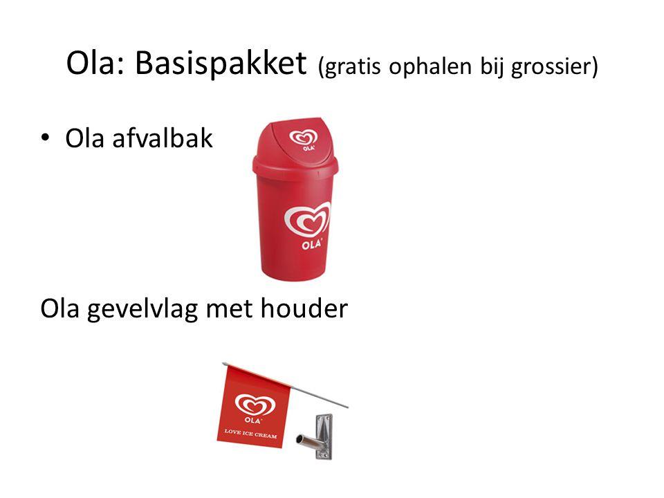 Ola: Basispakket (gratis ophalen bij grossier)