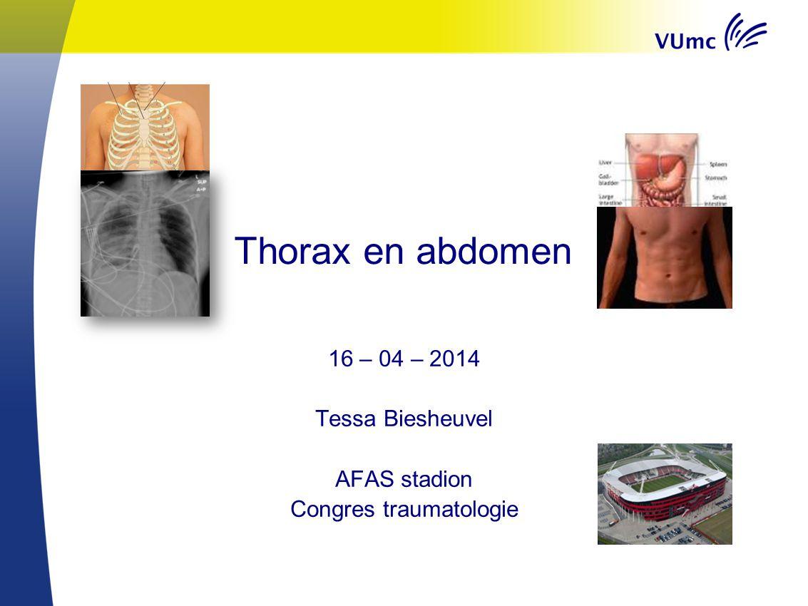 16 – 04 – 2014 Tessa Biesheuvel AFAS stadion Congres traumatologie