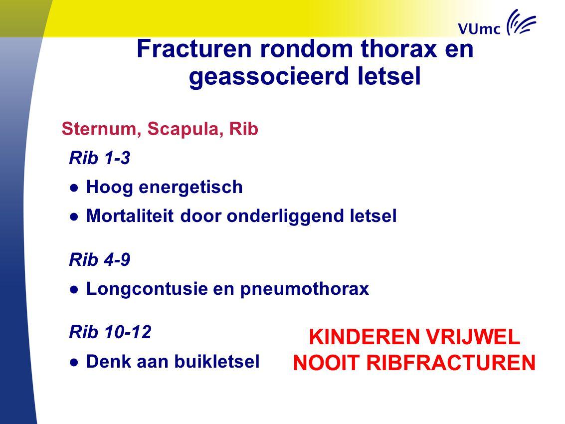 Fracturen rondom thorax en geassocieerd letsel