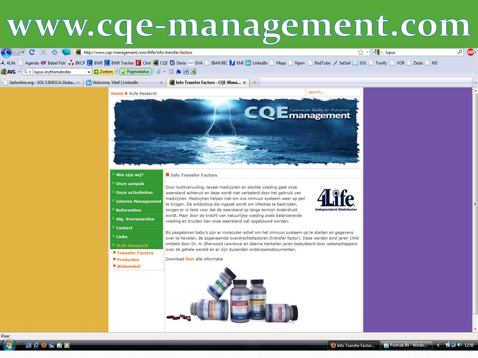 Designed by CQE-Management.com