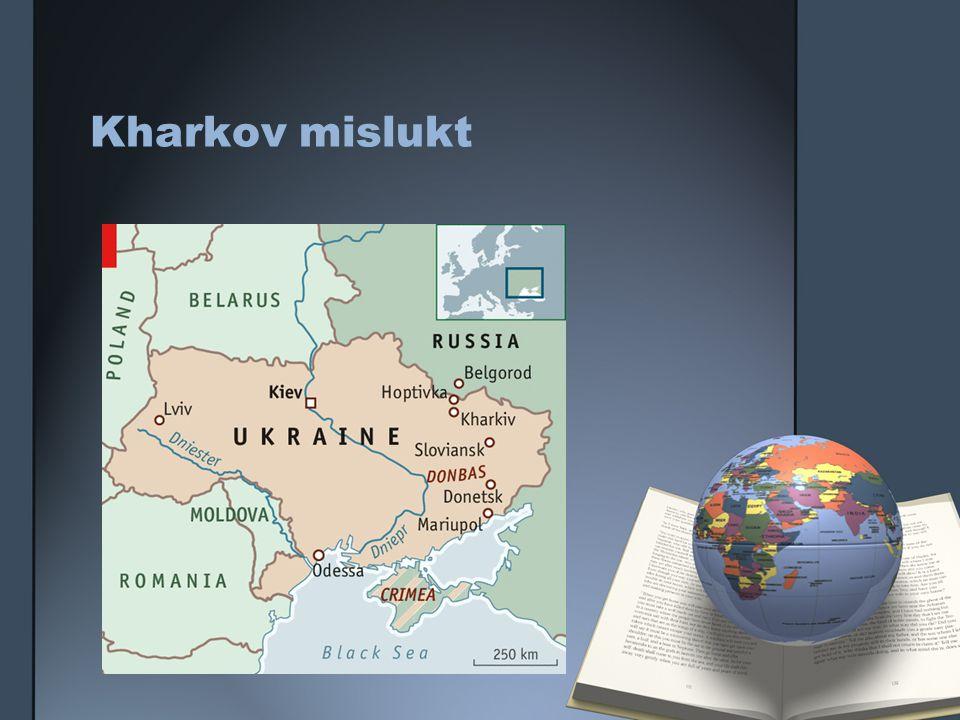 Kharkov mislukt