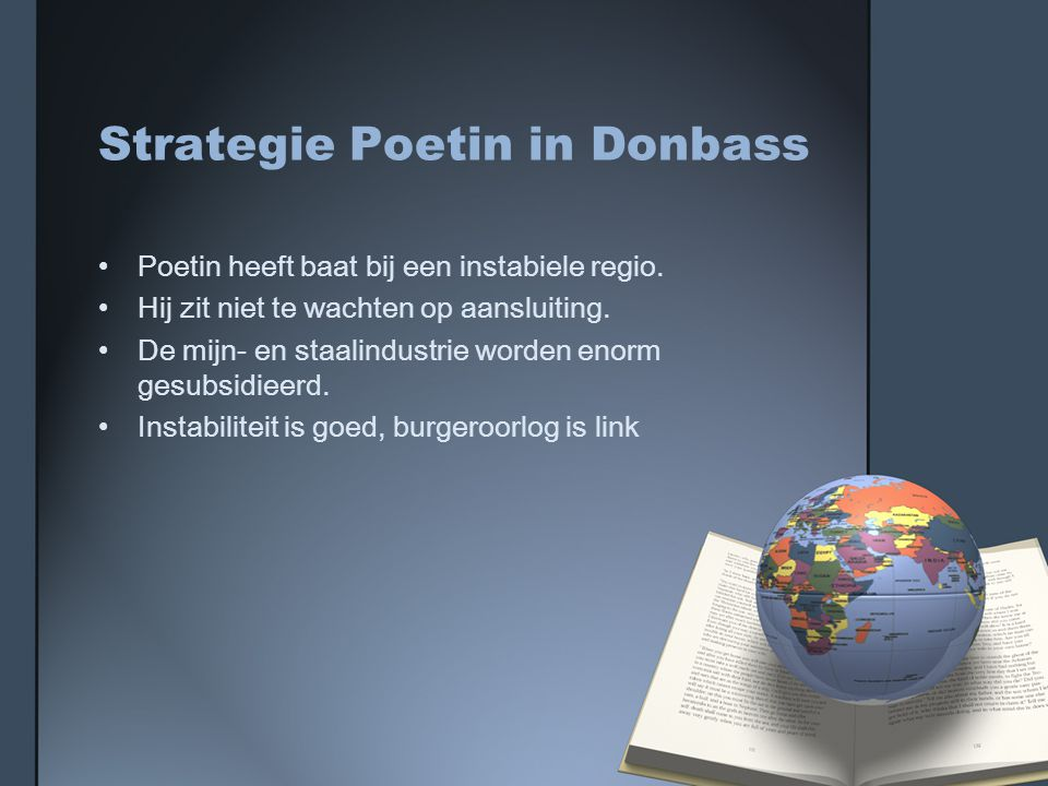 Strategie Poetin in Donbass