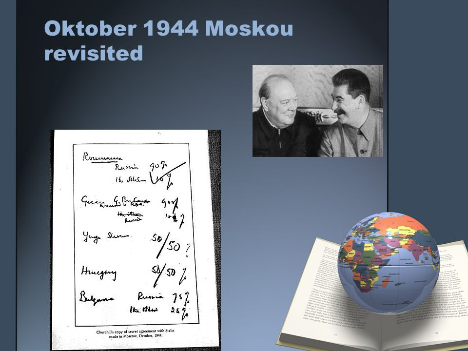 Oktober 1944 Moskou revisited
