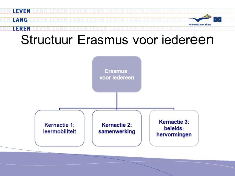 Structuur Erasmus voor iedereen
