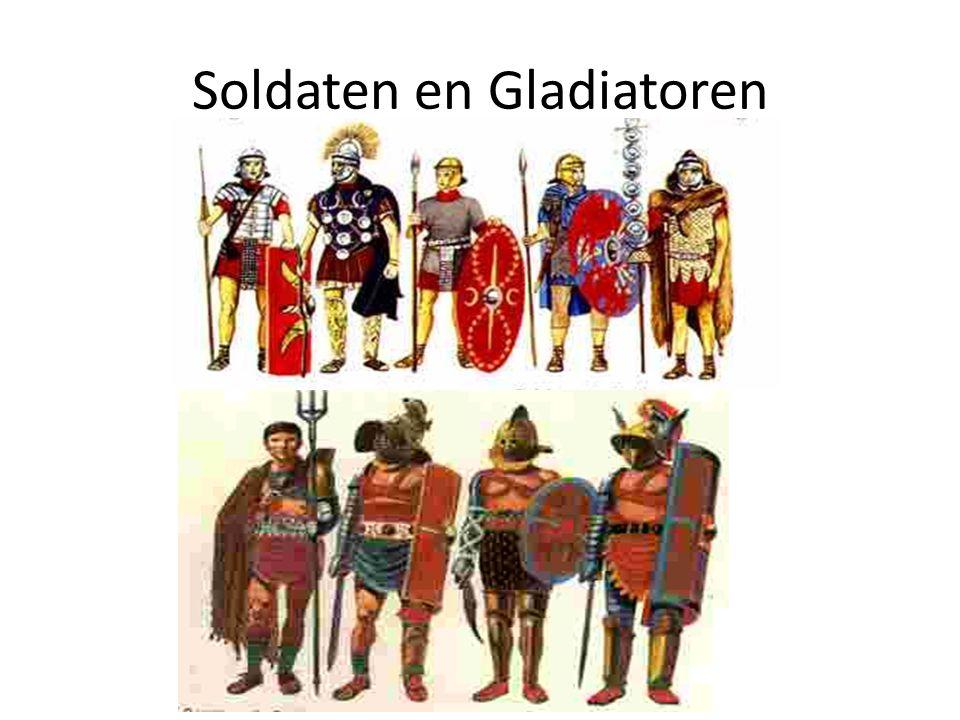 Soldaten en Gladiatoren