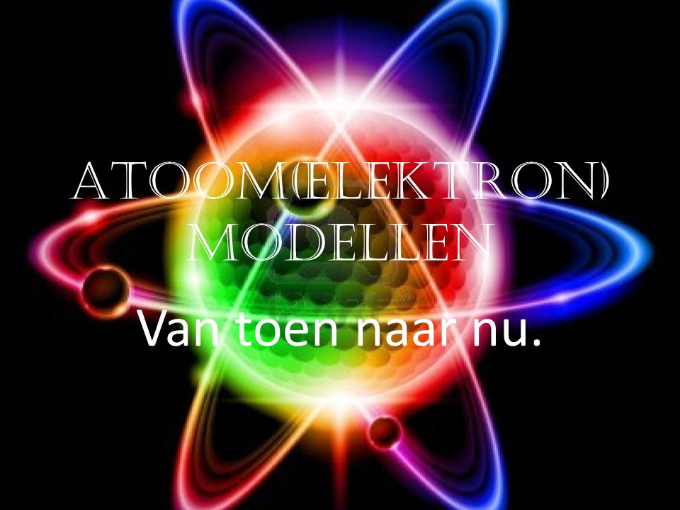 Atoom(elektron)modellen