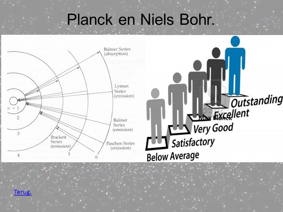 Planck en Niels Bohr. Niels Bohr,