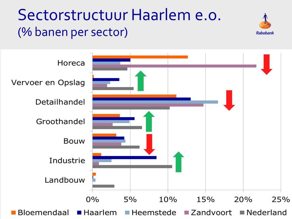 Sectorstructuur Haarlem e.o.