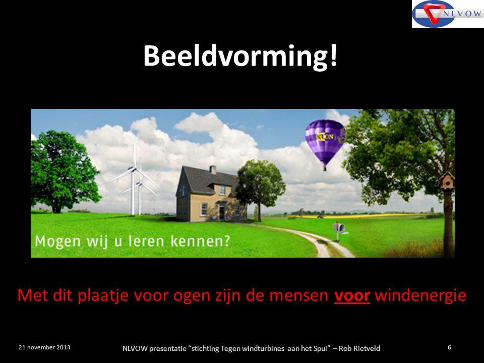 Met dit plaatje voor ogen zijn de mensen voor windenergie