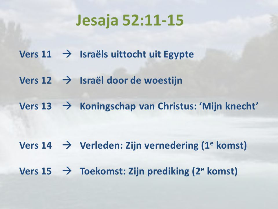 Jesaja 52:11-15
