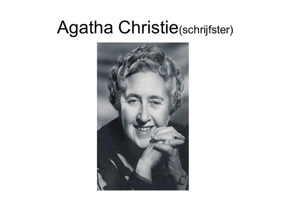 Agatha Christie(schrijfster)