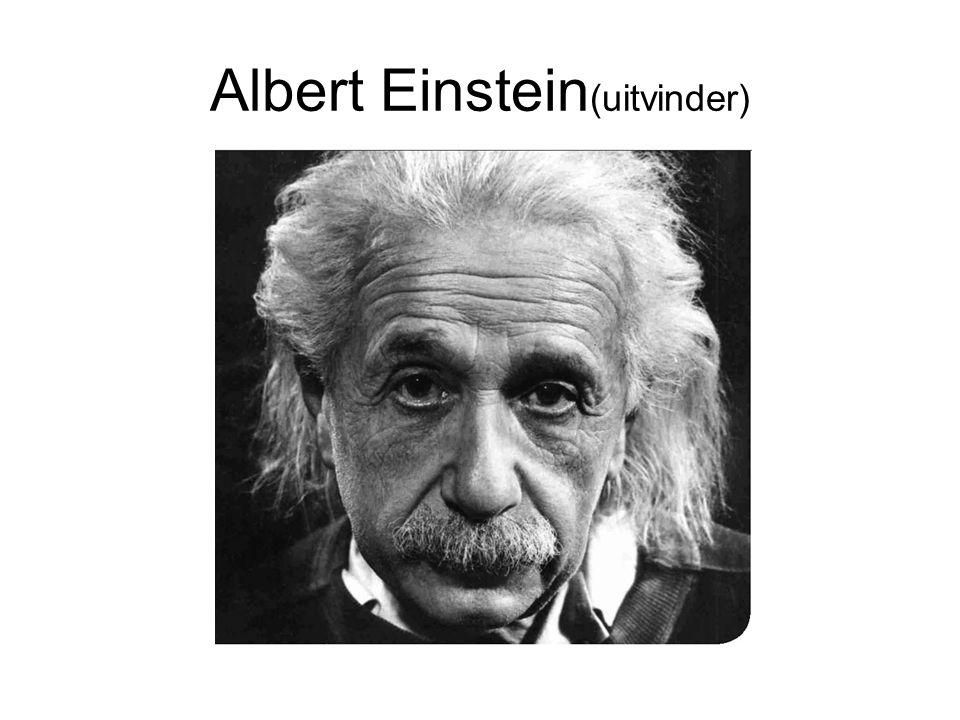 Albert Einstein(uitvinder)