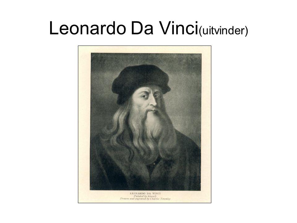Leonardo Da Vinci(uitvinder)