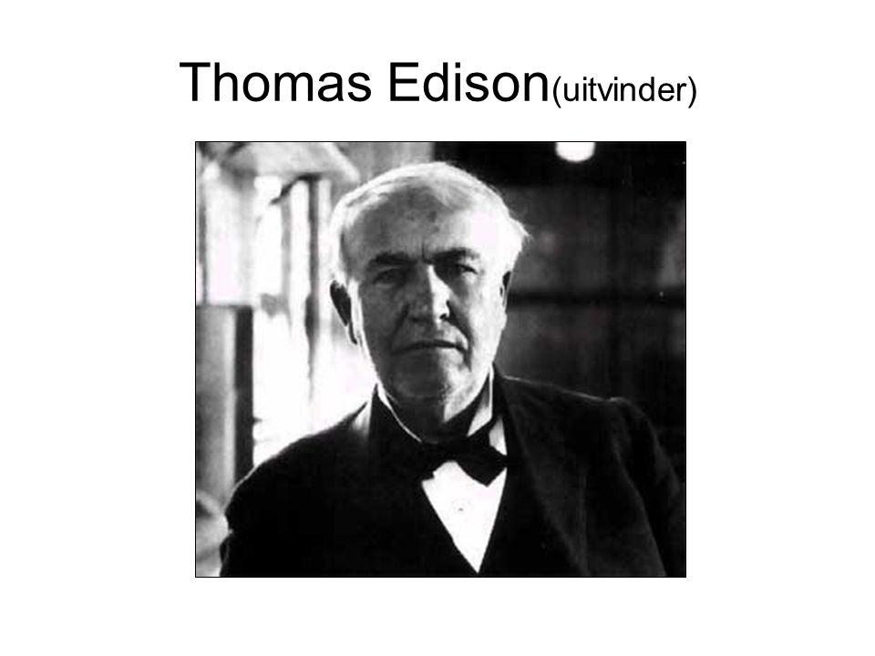 Thomas Edison(uitvinder)