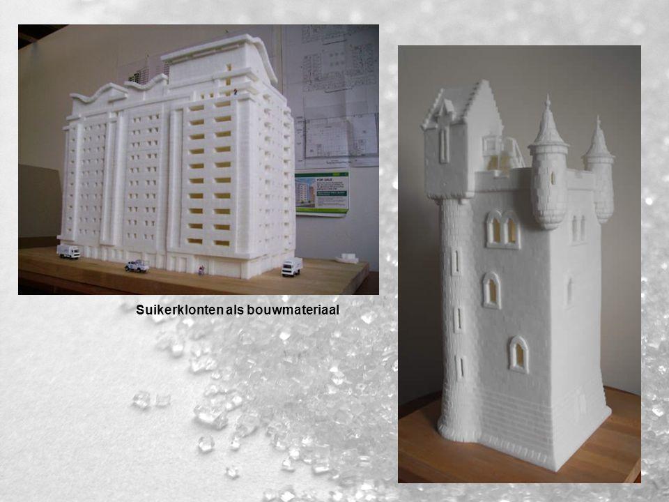 Suikerklonten als bouwmateriaal