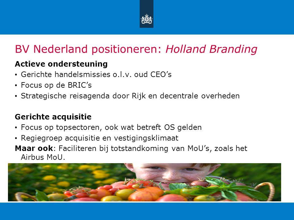 BV Nederland positioneren: Holland Branding