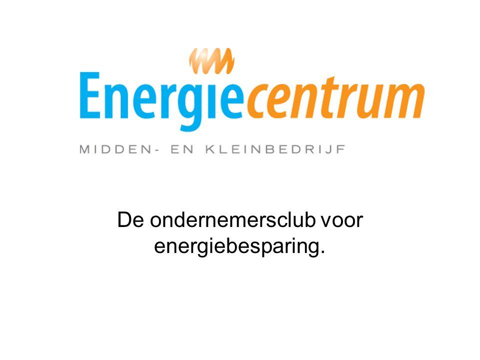 De ondernemersclub voor energiebesparing.