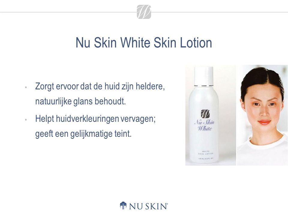 Nu Skin White Skin Lotion