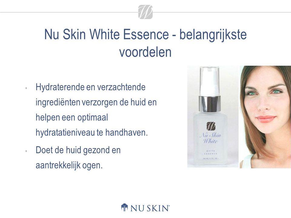 Nu Skin White Essence - belangrijkste voordelen
