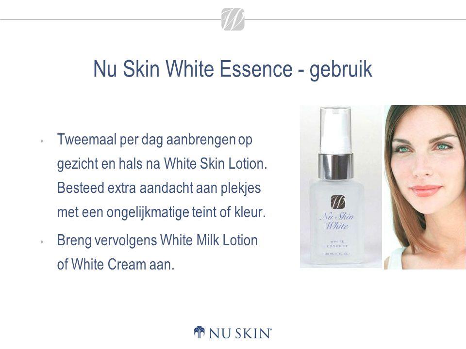 Nu Skin White Essence - gebruik