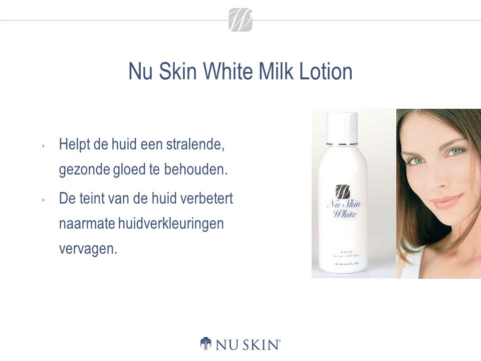 Nu Skin White Milk Lotion