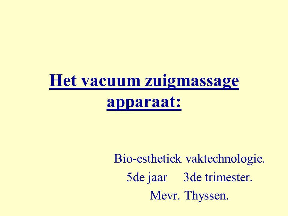 Het vacuum zuigmassage apparaat: