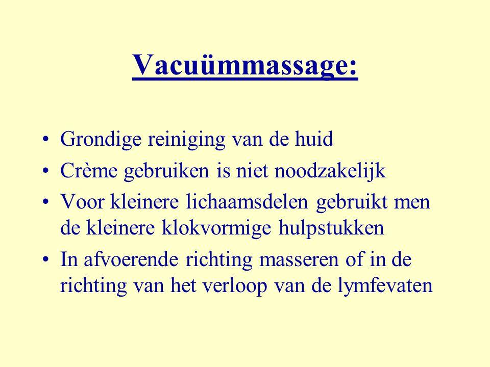 Vacuümmassage: Grondige reiniging van de huid
