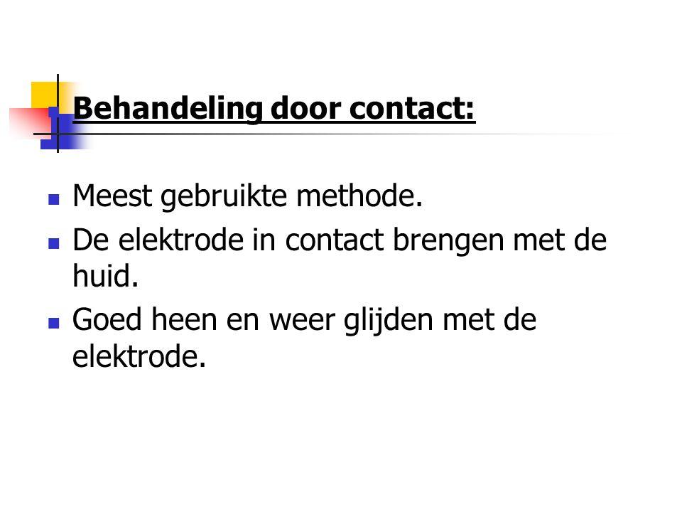 Behandeling door contact: