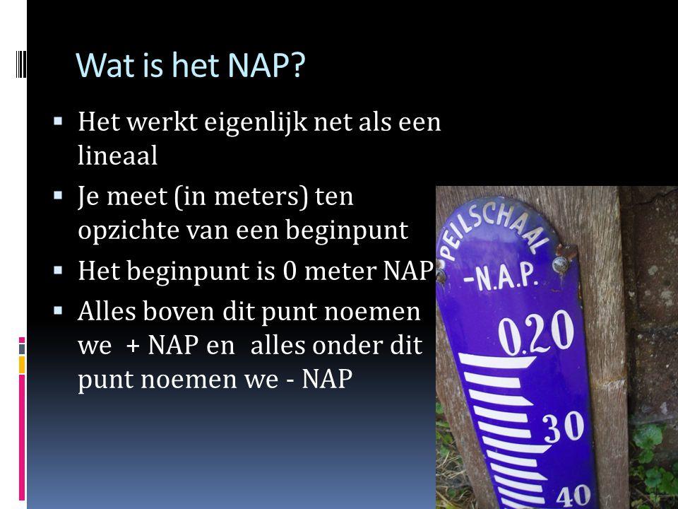 Wat is het NAP Het werkt eigenlijk net als een lineaal