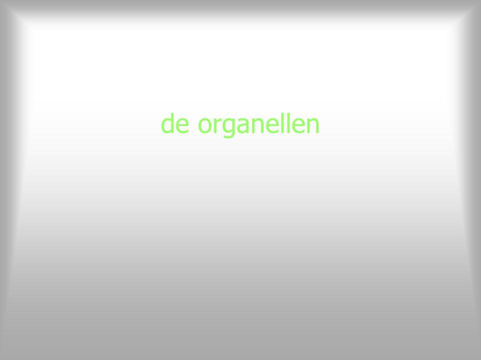 de organellen