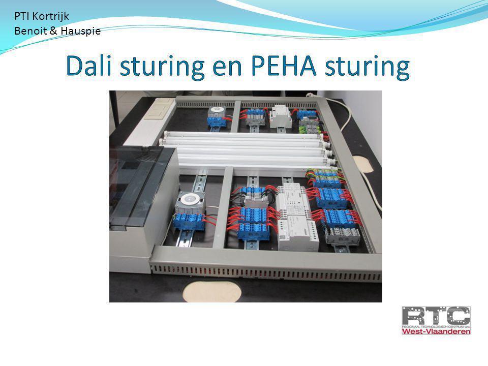 Dali sturing en PEHA sturing