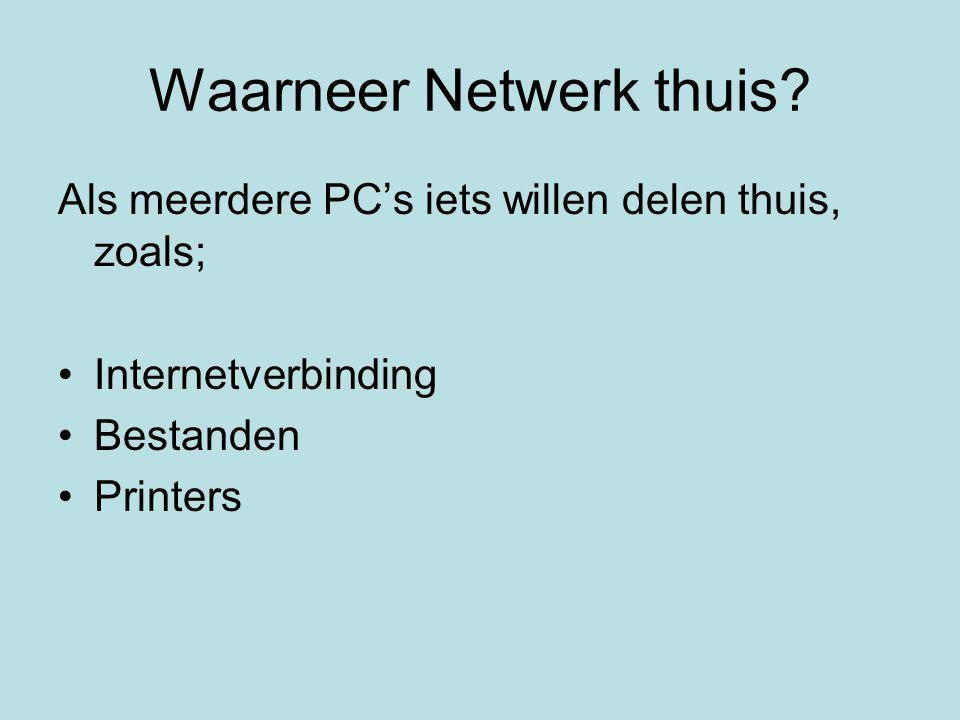 Waarneer Netwerk thuis