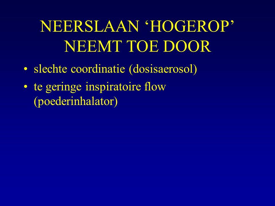 NEERSLAAN 'HOGEROP' NEEMT TOE DOOR