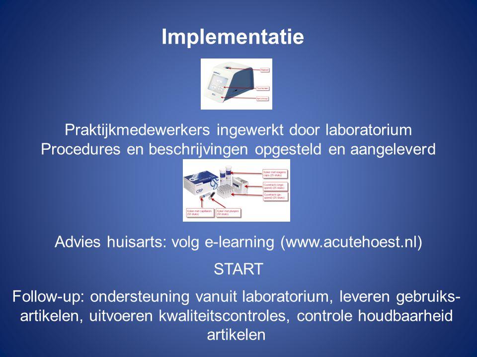 Implementatie Praktijkmedewerkers ingewerkt door laboratorium