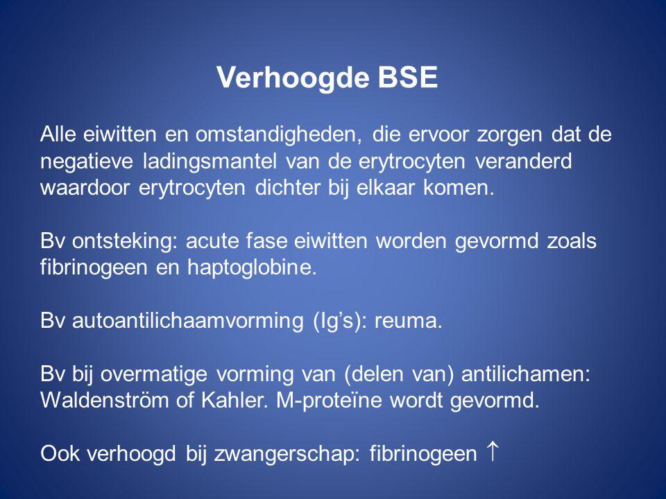 Verhoogde BSE