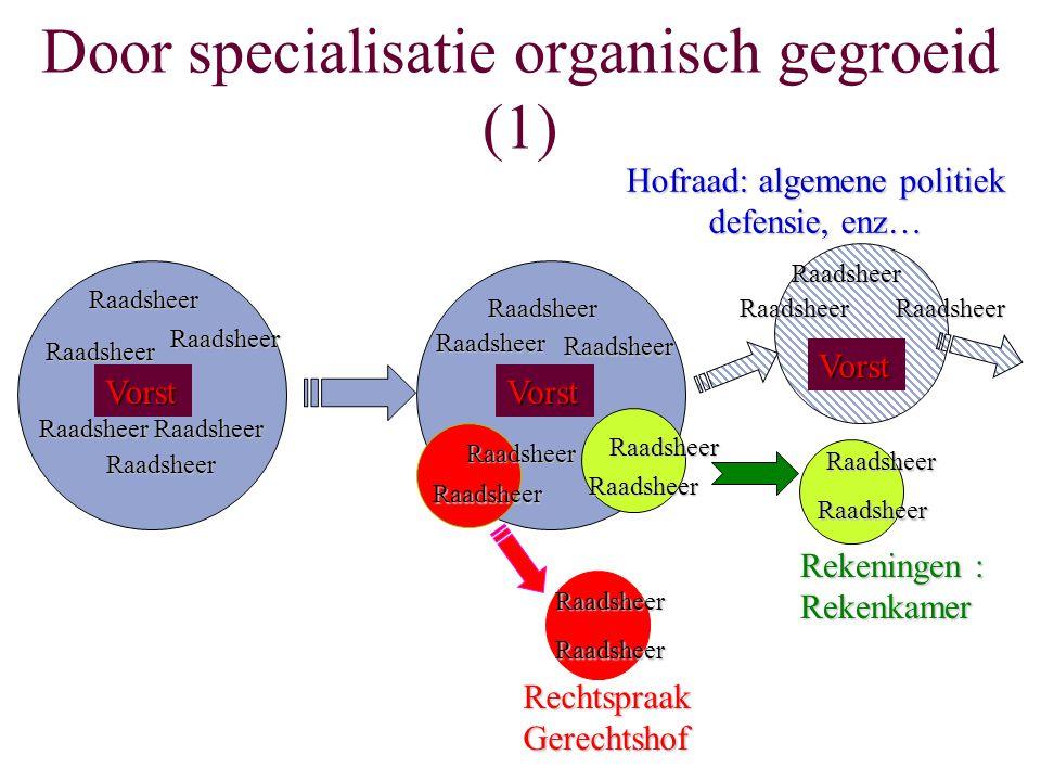 Door specialisatie organisch gegroeid (1)