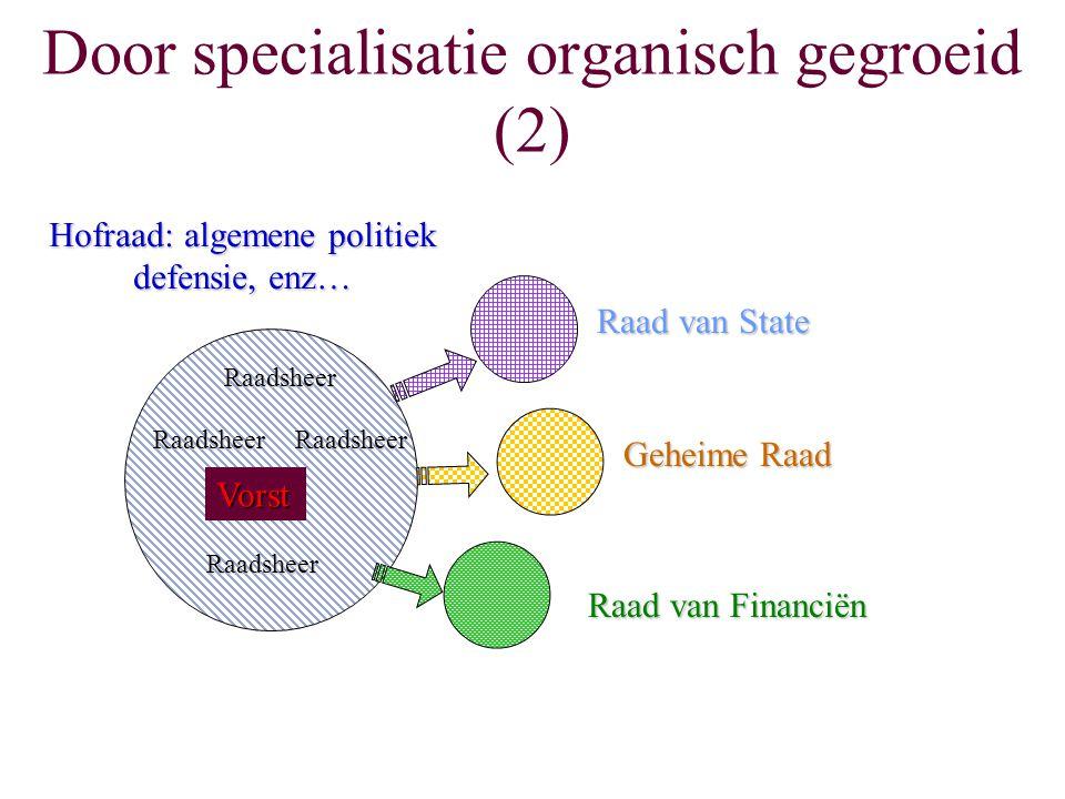 Door specialisatie organisch gegroeid (2)