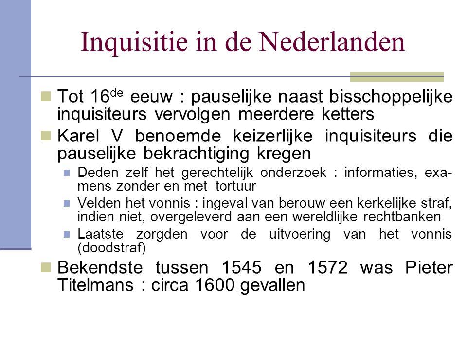 Inquisitie in de Nederlanden