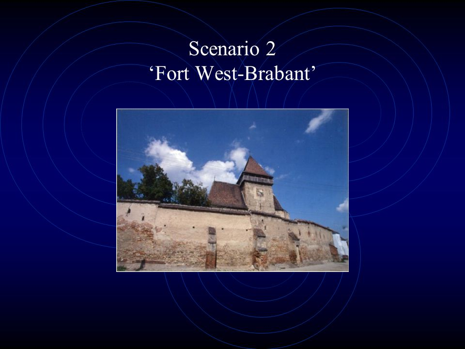 Scenario 2 'Fort West-Brabant'