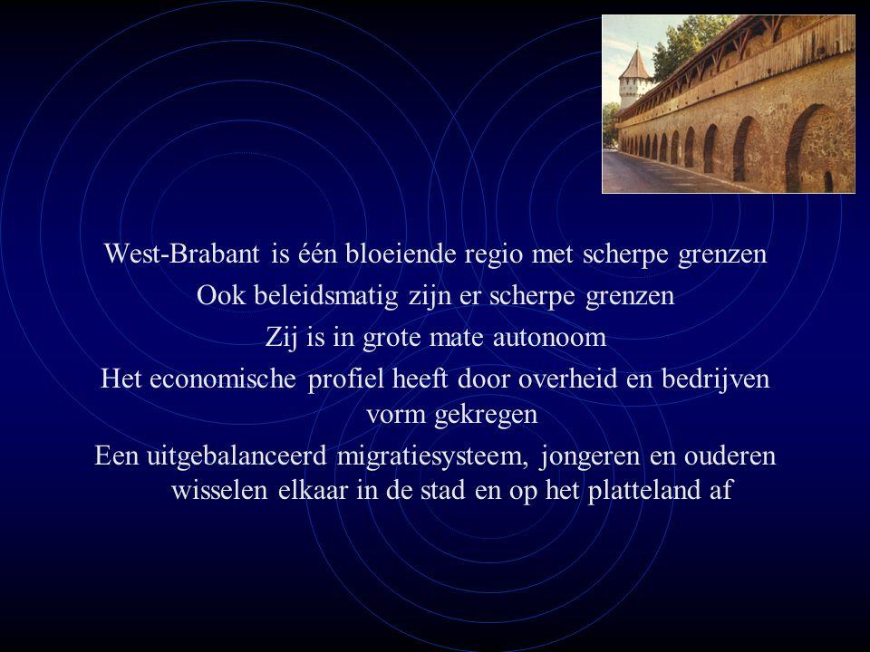 West-Brabant is één bloeiende regio met scherpe grenzen