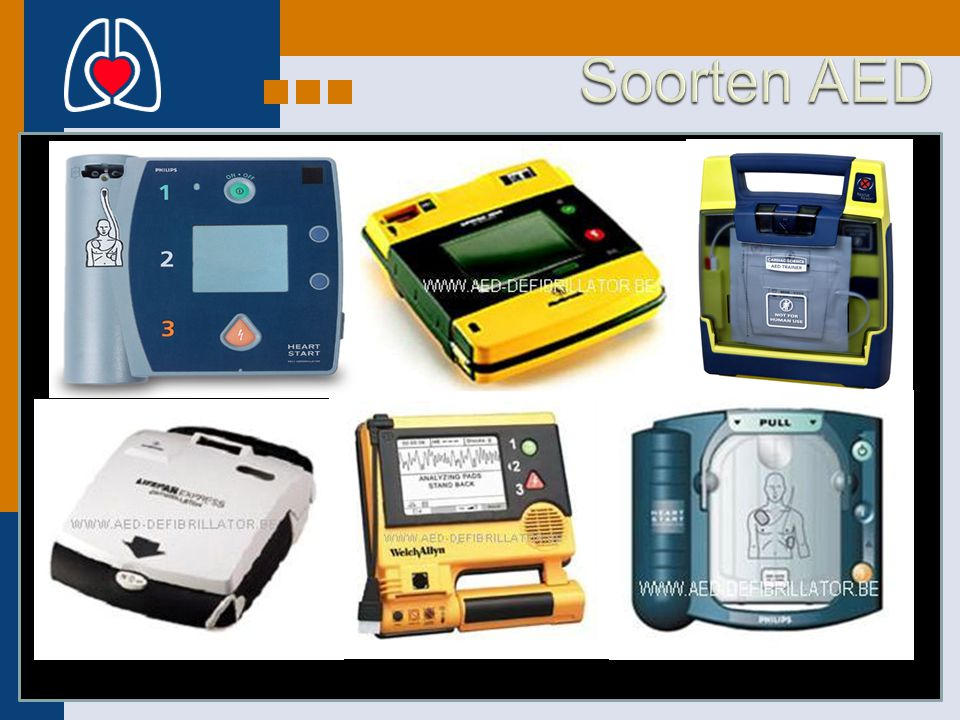 Soorten AED