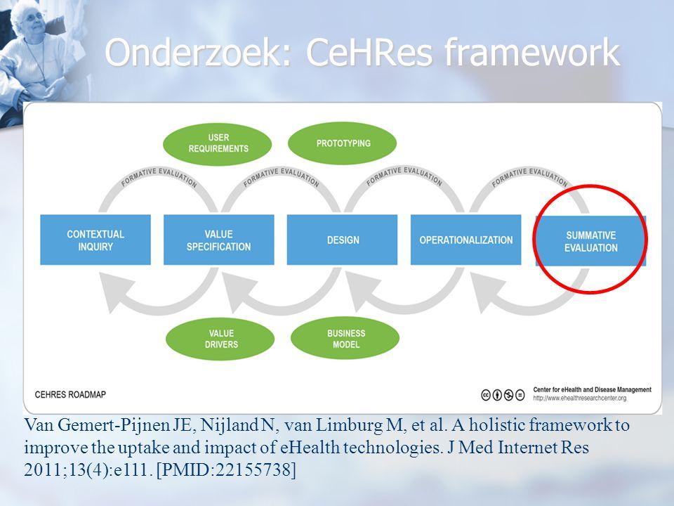 Onderzoek: CeHRes framework