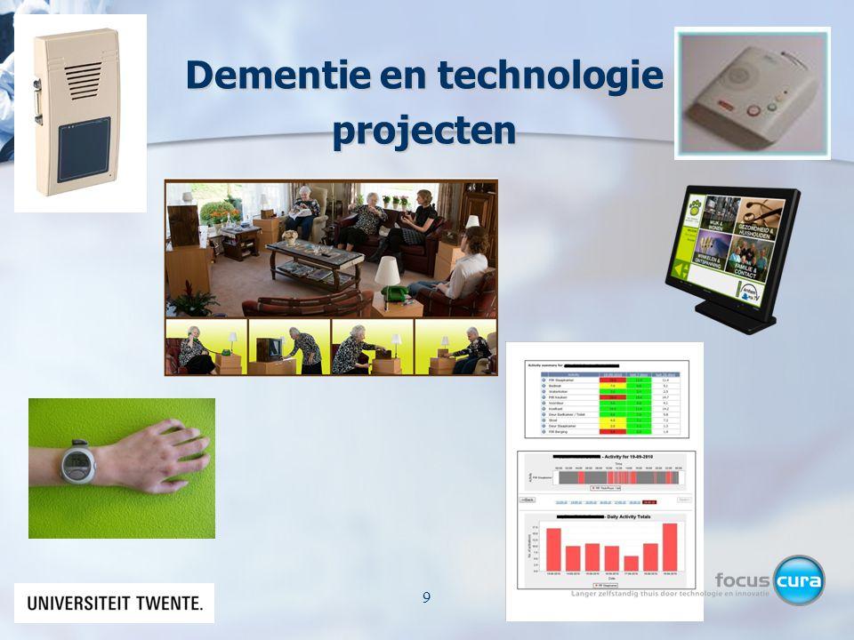 Dementie en technologie projecten