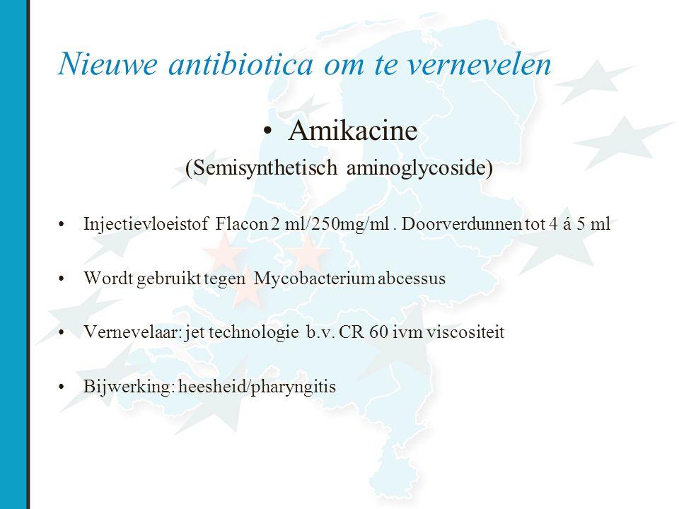 Nieuwe antibiotica om te vernevelen