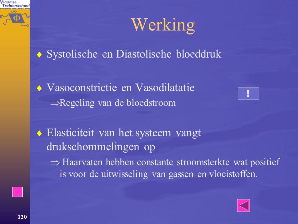 Werking Systolische en Diastolische bloeddruk