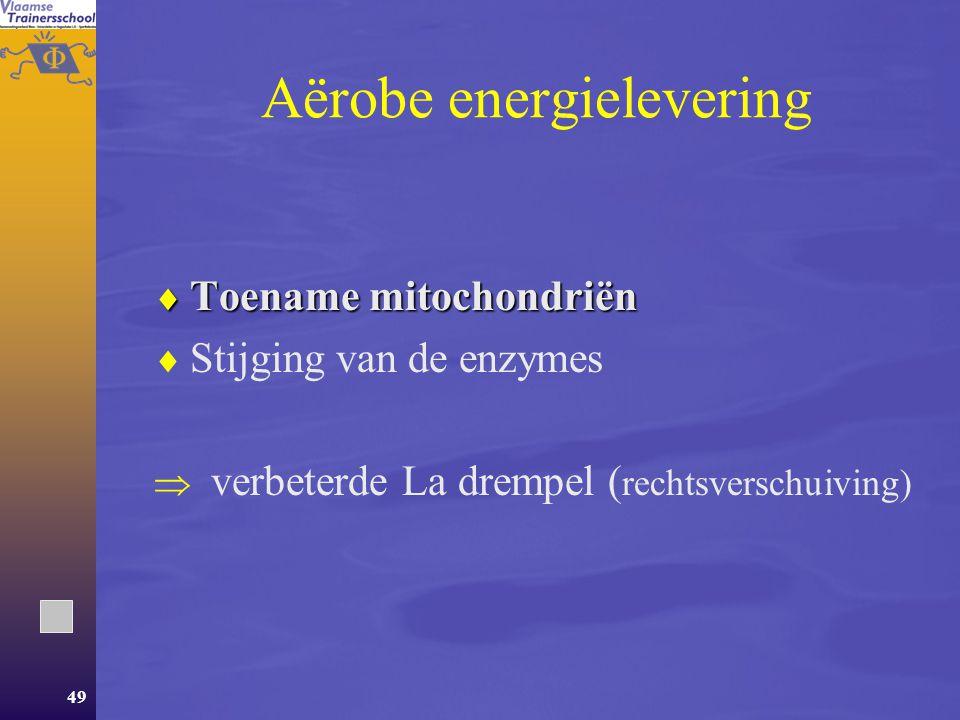Aërobe energielevering