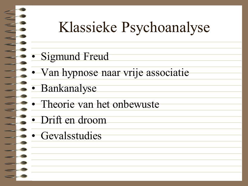 Klassieke Psychoanalyse