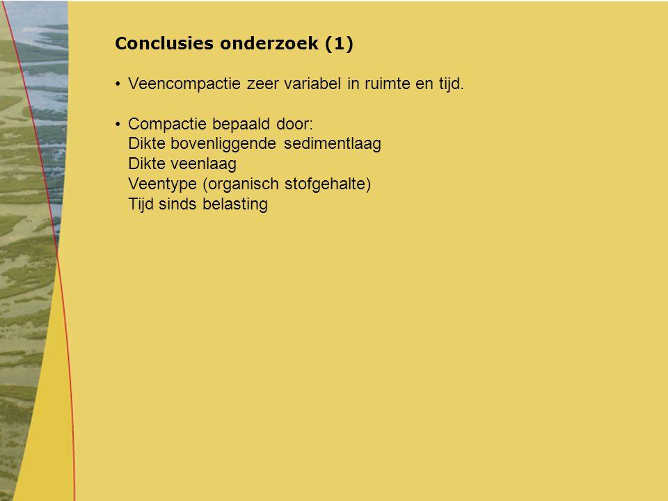 Conclusies onderzoek (1)