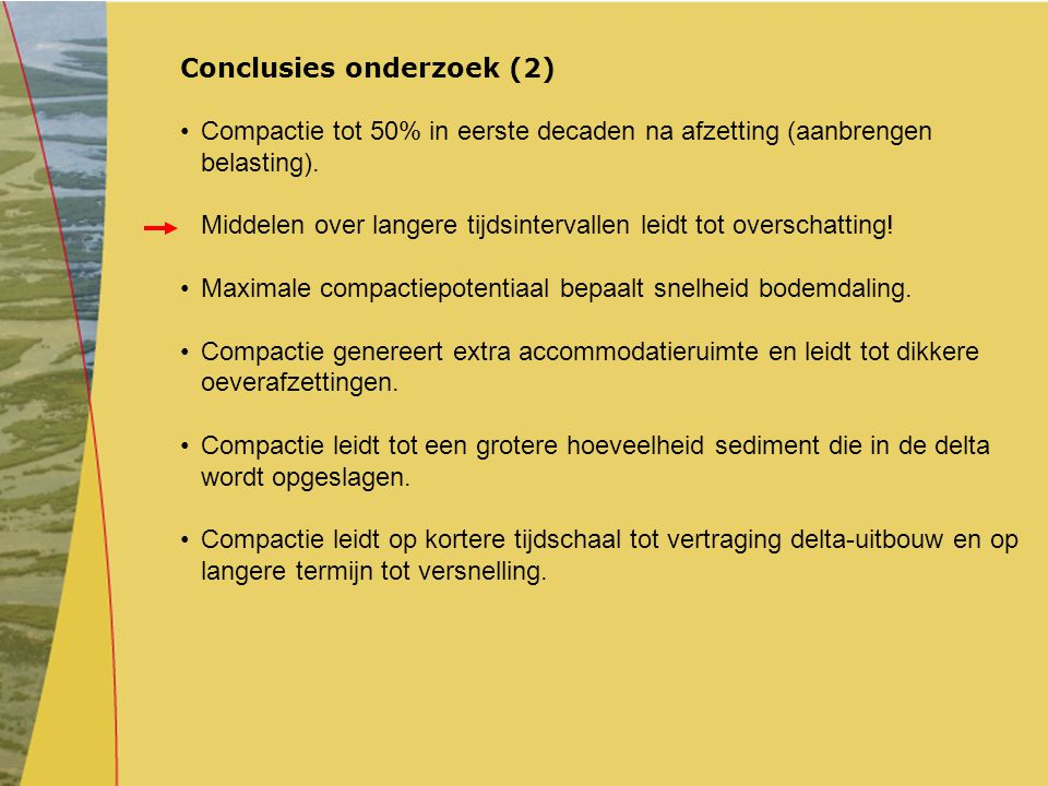 Conclusies onderzoek (2)
